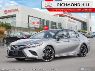 New 2020 Toyota Camry XSE  -  Sunroof -  Navigation for sale in Richmond Hill, ON