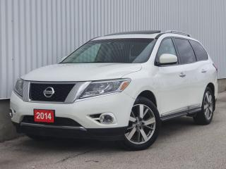 Used 2014 Nissan Pathfinder 4WD|Platinum|NavI|TV/DVD|360 Cam|NO ACCIDENT for sale in Mississauga, ON