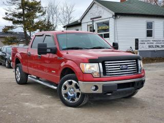 Used 2012 Ford F-150 1 Owner No Accidents XTR Supercrew 4x4 BLTH Remote Start for sale in Sutton, ON