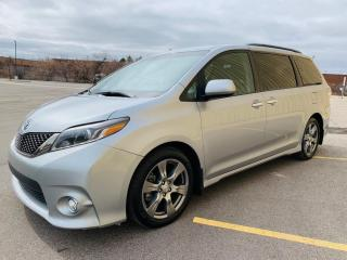 Used 2017 Toyota Sienna 2017 Sienna SE Techonology package 8-Pass FWD for sale in Brampton, ON