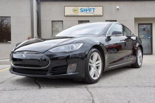 Used 2014 Tesla Model S 60 BLACK LEATHER, REAR WHEEL DRIVE, LOW KM! for sale in Burlington, ON