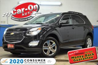 Used 2016 Chevrolet Equinox LT AWD NAV SUNROOF REAR CAM HTD SEATS LOADED for sale in Ottawa, ON