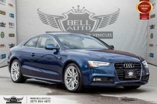 Used 2016 Audi A5 Technik plus, AWD, S-LINE, NO ACCIDENT, NAVI, REAR CAM, B.SPOT for sale in Toronto, ON