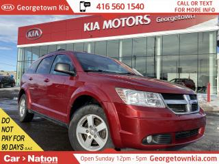Used 2010 Dodge Journey SE | AUX IN | 2.4L 4 CYL | ALLOYS | POWER OPTIONS for sale in Georgetown, ON
