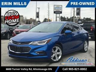 Used 2017 Chevrolet Cruze Premier  HEATED SEATS|LOW KM|REMOTE STRT| for sale in Mississauga, ON