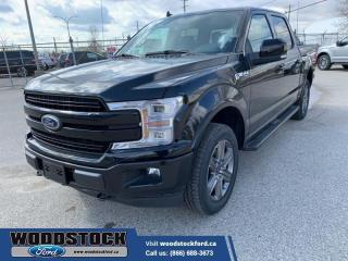 New 2020 Ford F-150 Lariat  502A, CREW, 2.7L, MOONROOF, FX4 for sale in Woodstock, ON