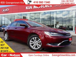 Used 2015 Chrysler 200 Limited | B/U CAM | BLUETOOTH | TOUCH SCREEN | for sale in Georgetown, ON