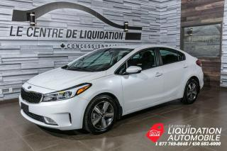 Used 2018 Kia Forte LX +CAM/REC+MAGS+BLUETOOTH+A/C for sale in Laval, QC