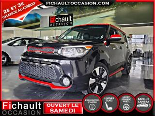 Used 2016 Kia Soul Sport Noir onyx/Rouge **** ROUES D HIVER for sale in Châteauguay, QC