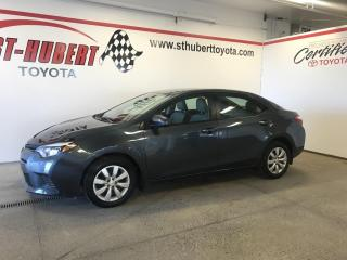 Used 2016 Toyota Corolla LE, BANCS CHAUFFANTS, CAMÉRA DE RECUL for sale in St-Hubert, QC