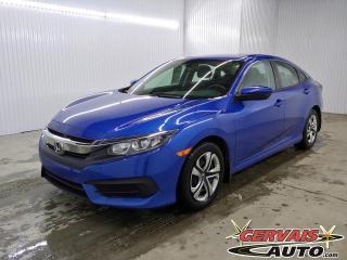 Used 2016 Honda Civic LX CAMÉRA SIÈGES CHAUFFANTS BLUETOOTH for sale in Shawinigan, QC
