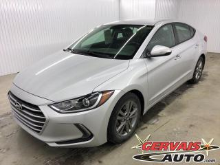 Used 2017 Hyundai Elantra GL MAGS BLUETOOTH CAMÉRA DE RECUL SIÈGES CHAUFFANTS for sale in Trois-Rivières, QC
