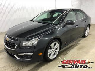 Used 2016 Chevrolet Cruze LTZ RS MAGS CUIR TOIT CAMÉRA BLUETOOTH for sale in Shawinigan, QC