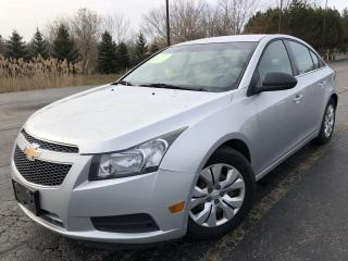 Used 2012 Chevrolet Cruze 2LS 2WD for sale in Cayuga, ON