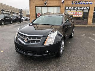 Used 2012 Cadillac SRX AWD 4dr Premium-CLEAN CARFAX-NAVI for sale in North York, ON