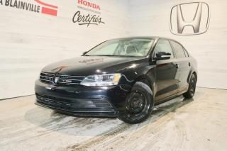 Used 2015 Volkswagen Jetta Comfortline 1,8 TSI 4 portes BM for sale in Blainville, QC