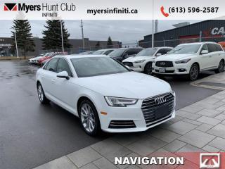 Used 2017 Audi A4 2.0T quattro Progressiv  - Navigation for sale in Ottawa, ON
