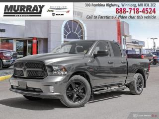 New 2020 RAM 1500 Classic Express 4x4 Quad Cab 6'4  Box for sale in Winnipeg, MB
