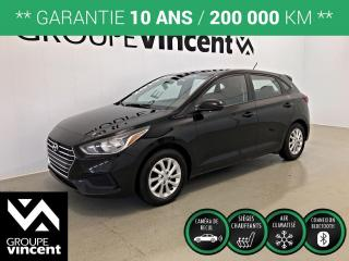 Used 2019 Hyundai Accent PREFERRED ** GARANTIE 10 ANS ** Fiable et économique! for sale in Shawinigan, QC