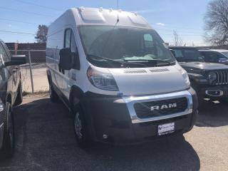New 2020 RAM 1500 ProMaster High Roof 136 in. WB for sale in Concord, ON