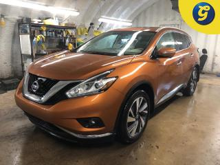 Used 2015 Nissan Murano Platinum * AWD * Navigation * Leather interior * Panoramic sunroof * Remote start * Emergency brake assist * Around View Monitor w/Moving Object Detec for sale in Cambridge, ON