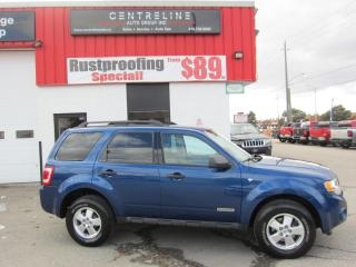 Used 2008 Ford Escape Xlt $5,995+HST+LIC FEE / CERTIFIED / LEATHER for sale in North York, ON