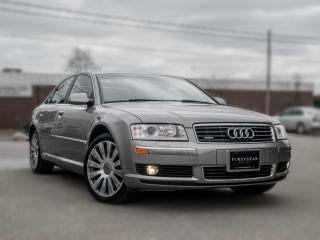 Used 2005 Audi A8 4.2 I AWD  I NAV I ROOF I LOADED I LOW KM I GREAT CONDITION for sale in Toronto, ON