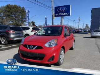 Used 2017 Nissan Micra S à hayon 4 portes for sale in Victoriaville, QC