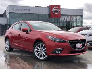 Used 2014 Mazda MAZDA3 GT-SKY ONLY 53,200KM!! NAVIGATION for sale in Midland, ON