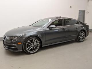 Used 2018 Audi A7 Sportback S-LINE/NAV/PUSH START/BACK-UP CAM/LOADED! for sale in Toronto, ON