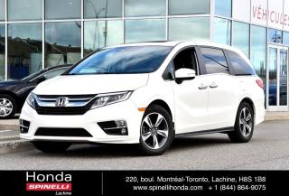 Used 2018 Honda Odyssey EX-L w/NAVI BAS KM 8 PASS,CUIR,NAVI BAS KM for sale in Lachine, QC