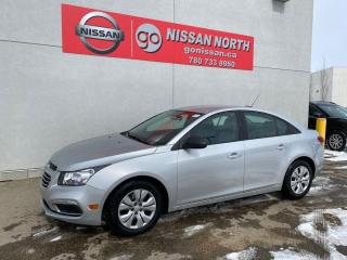 Used 2015 Chevrolet Cruze 1LS 4dr FWD Sedan - LOW KMS!! for sale in Edmonton, AB