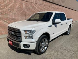 Used 2017 Ford F-150 Limited  for sale in Ajax, ON