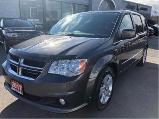 Used 2017 Dodge Grand Caravan Crew w/Heated Seats, Remote Start, Backup Cam for sale in Hamilton, ON