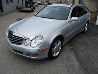 Used 2009 Mercedes-Benz E-Class WAGON 4MATIC 7 PASSANGERS for sale in Oakville, ON