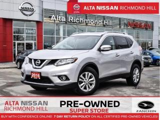 Used 2016 Nissan Rogue SV  AWD   Pwer Seat   Heated   17 Alloys   Fogs for sale in Richmond Hill, ON