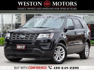 Used 2017 Ford Explorer AWD*7PASS*BLUETOOTH*REV CAM!!*PWR GRP!!* for sale in Toronto, ON