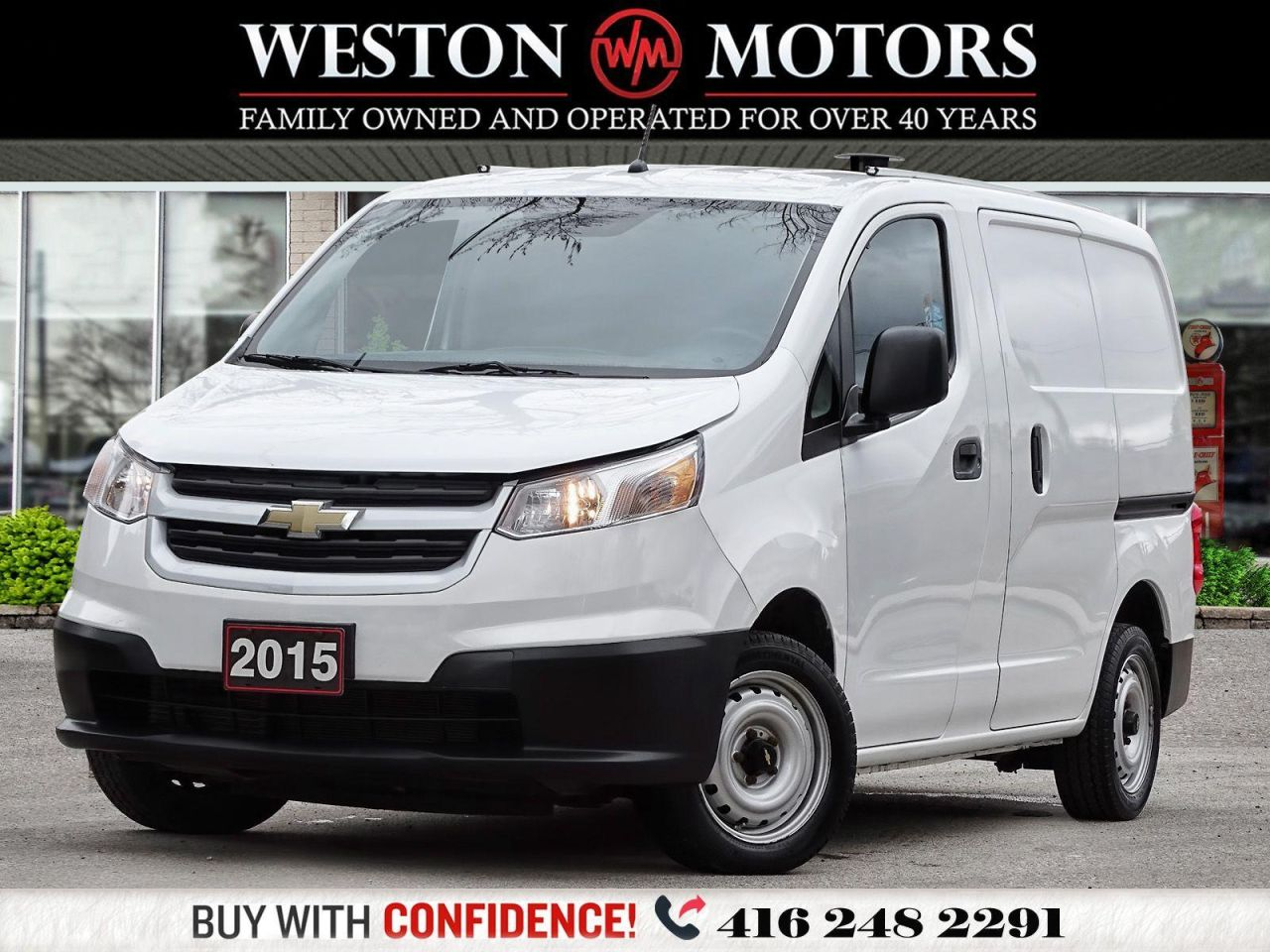 2015 Chevrolet City Express LS*SHELVING*PWR GRP*WOW ONLY 69KMS!!*