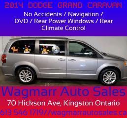 Used 2014 Dodge Grand Caravan SXT for sale in Kingston, ON
