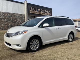 Used 2017 Toyota Sienna LIMITED  NAVIGATION  TV-DVD  PANO ROOF  BLIS for sale in North York, ON