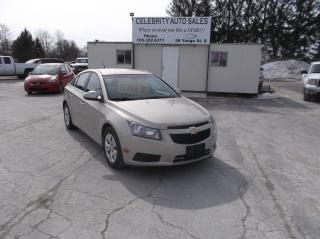Used 2012 Chevrolet Cruze LT for sale in Elmvale, ON