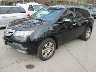 Used 2009 Acura MDX for sale in Mississauga, ON