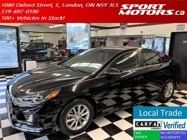 2018 Hyundai Sonata GL+Apple & Android Play+New Tires+Accident Free