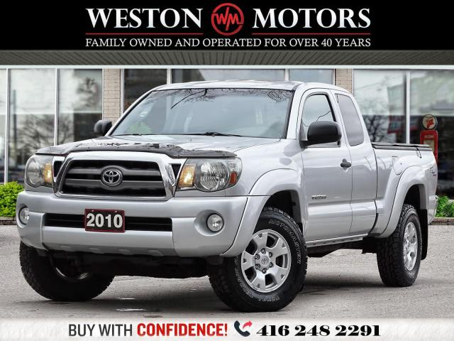 2010 Toyota Tacoma TRD*4X4*V6*SR5*EXT CAB*REV CAM!!*