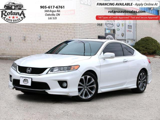 2014 Honda Accord V6 Auto EX-L w/Navi_Leather_Sunroof_Bluetooth