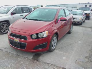 Used 2015 Chevrolet Sonic LT for sale in Innisfil, ON
