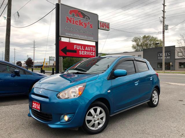 2014 Mitsubishi Mirage SE - AUTOMATIC - NEW TIRES - A\C - EXTRA CLEAN!