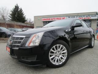 Used 2011 Cadillac CTS LEATHER-PANOR-ROOF-HEATED-BOSE-S-BLUETOOTH-LOADED for sale in Scarborough, ON
