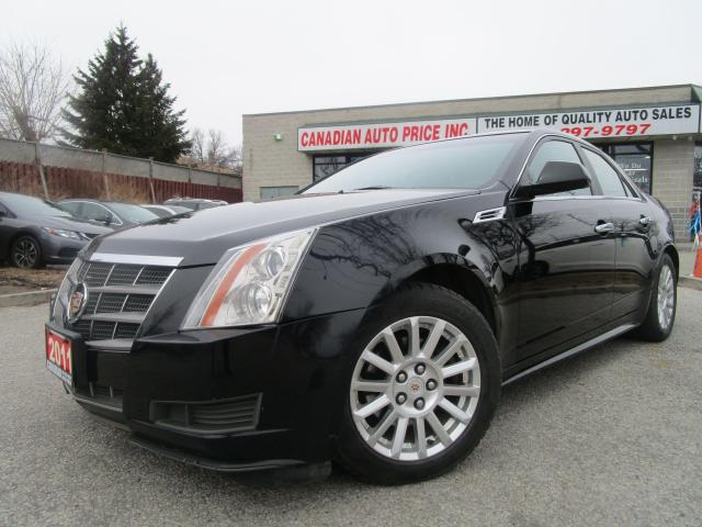 2011 Cadillac CTS LEATHER-PANOR-ROOF-HEATED-BOSE-S-BLUETOOTH-LOADED