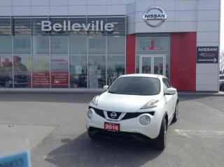 Used 2016 Nissan Juke SV AWD HEATED SEATS, BLUETOOTH, EXT WARRANTY for sale in Belleville, ON